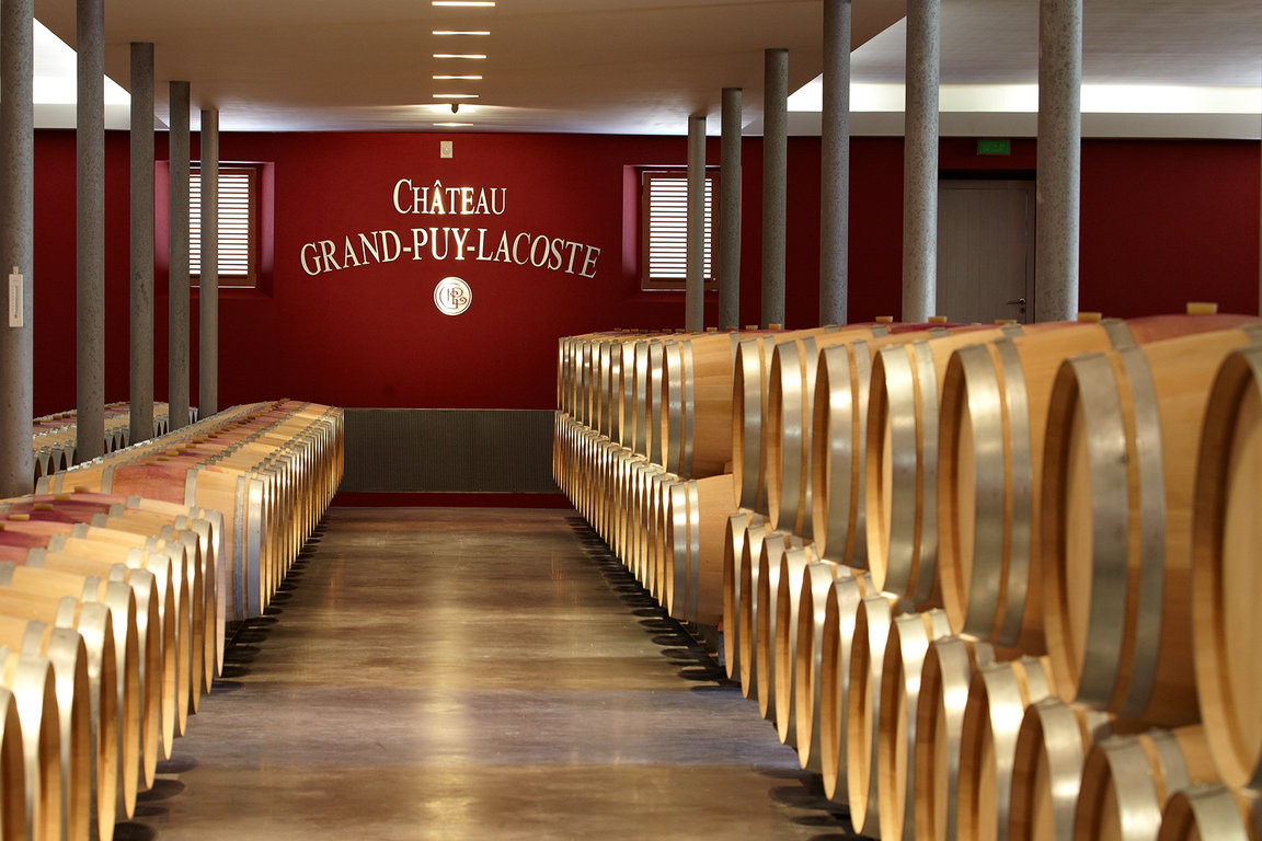 New barrels cellar - Château Grand-Puy-Lacoste